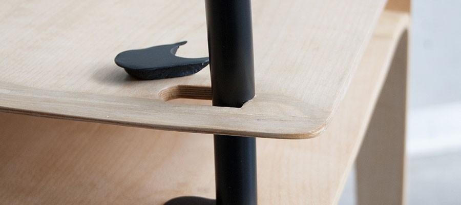 Dettaglio sedia Slit