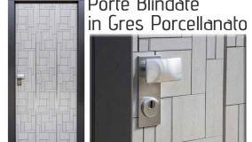 Porte blindate in gres porcellanato