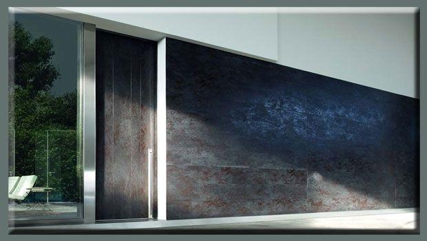 Nuove porte blindate in gres porcellanato a filo muro
