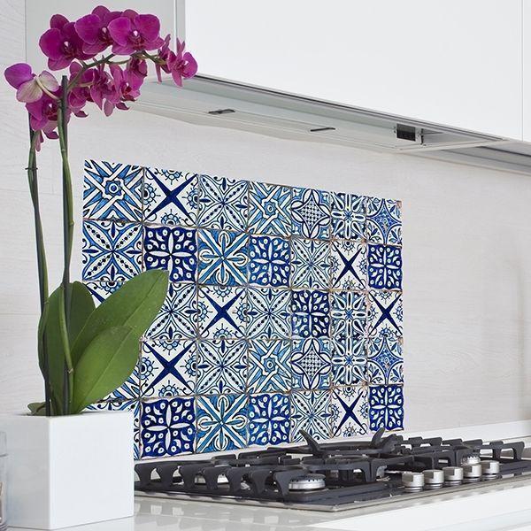 Adesivi per piastrelle for Pannelli adesivi per cucina