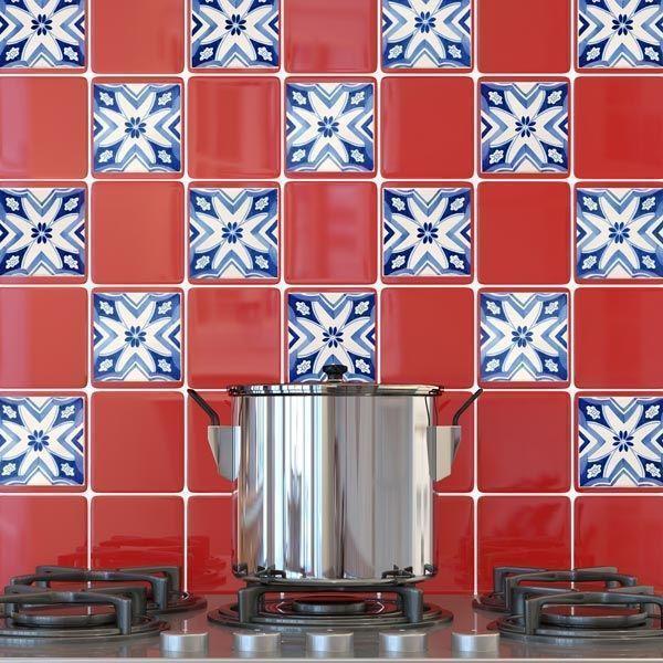 Adesivi per piastrelle for Scritte adesive cucina