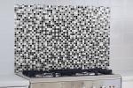 Pannello adesivo per angolo cottura effetto mosaico di Dekoidea