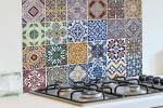 Kitchen panel di Dekoidea effetto azulejos