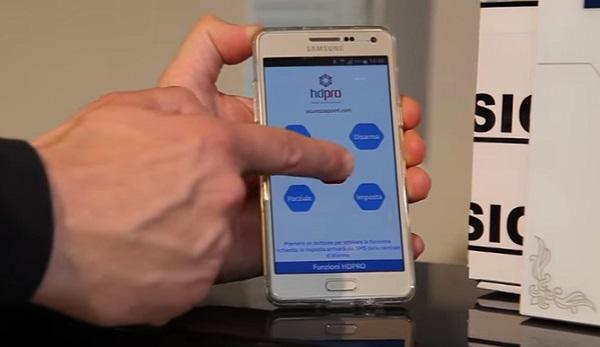 Telecontrollo antifurto wireless di Sicurezzapoint