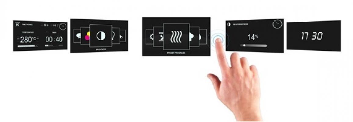 Progragrammazione automatica del forno Haier