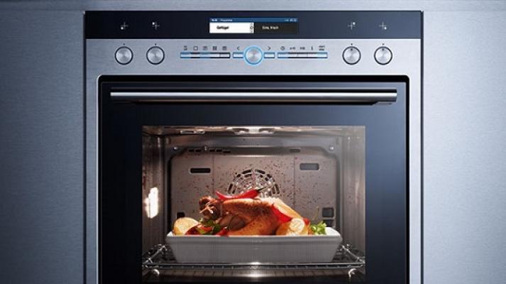 Inetrno del forno a cottura automatica Siemens