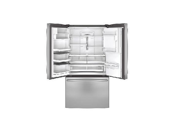 Congelatore a cassetti general Electric aperto
