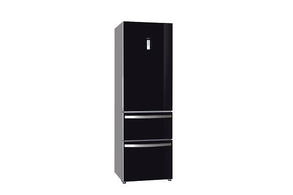 Congelatore a cassetti Haier nero chiuso