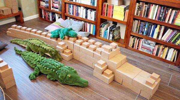 Creativi animali realizzabili con i mattoni in cartone Edo