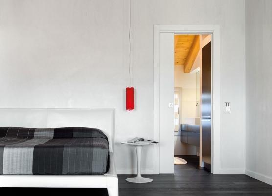 Controtelai Eclisse per porte scorrevoli in camere da letto
