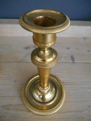 Candeliere da tavolo in stile impero. Di Anticoantico.com