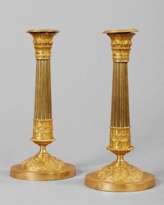 Candelieri da tavolo in stile egizio. Di Anticoantico.com