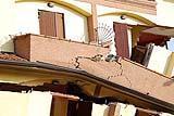Danni provocati dal terremoto