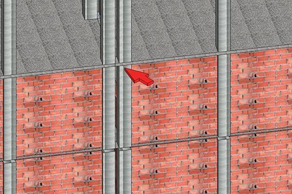 Giunto non regolamentare tra edifici contigui