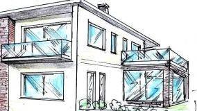 Spazio esterno casa for Laghetto balneabile progetto