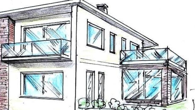 Le balaustre in vetro come trasparenti barriere protettive esterne