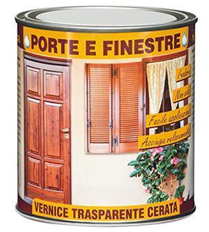 Vernice specifica Porte e Finestre di Veleca.
