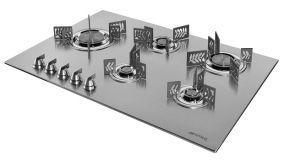 Piani cottura in acciaio