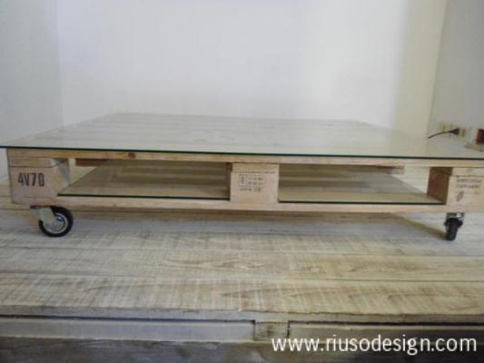 Tavolo basso di Riuso Design