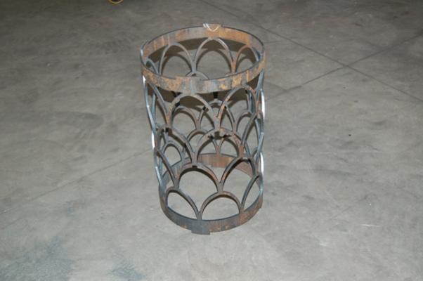 CMM laser cut design