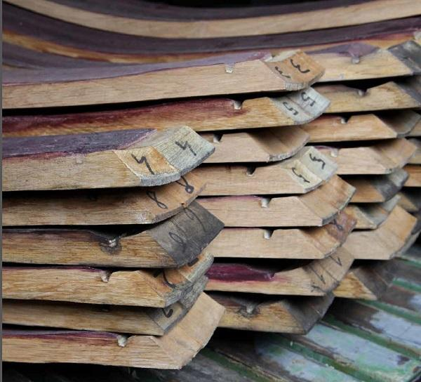 Doghe dell barrique di San Patrignano Design Lab