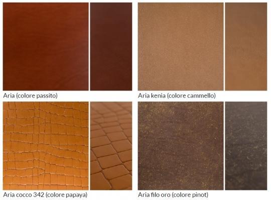 Pavimenti in cuoio: le  texture di Lineacuoio