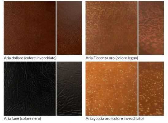 Pavimenti in cuoio  texture di Lineacuoio