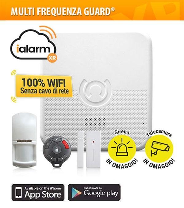 Allarme casa: frequenze guard