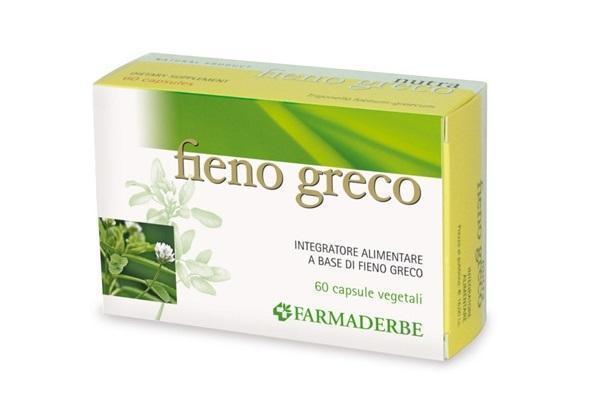 Fieno Greco in capsule Farmaderbe