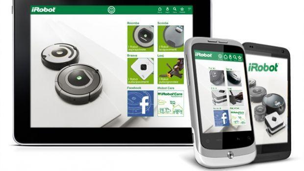 App per avviare aspirapolvere robot da remoto