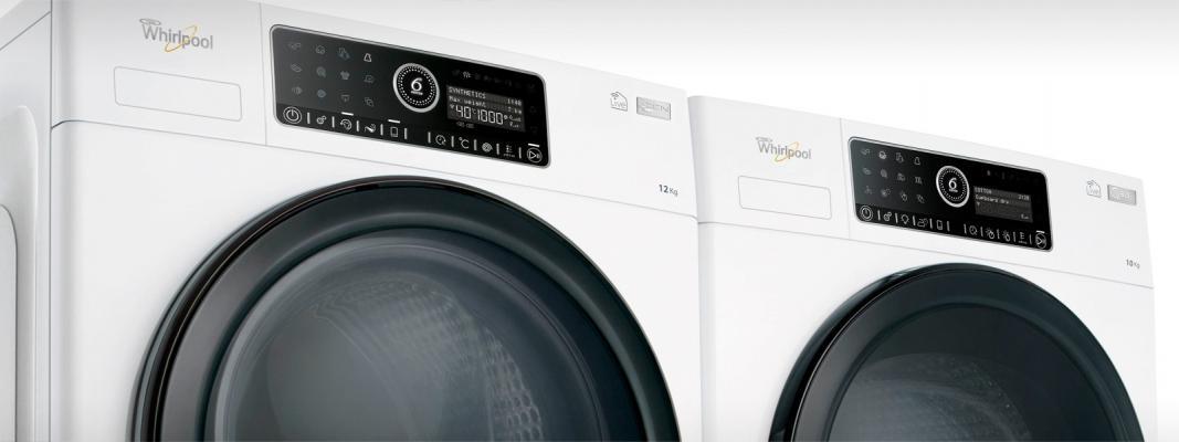 Lavatrice e ascugatrice whirlpool supreme care modello silenzioso