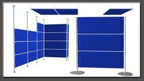 Divisori fonoassorbenti: pannelli modulari