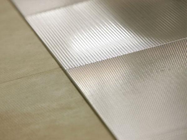 Pavimenti in acciaio for Scatolati in acciaio inox