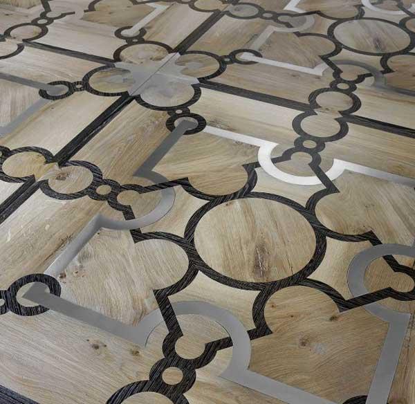 Parchettificio Toscano: pavimenti multimateriali