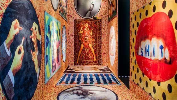 I tappeti moderni che arredano