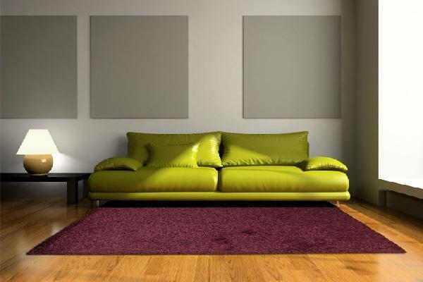 Tappeto Arcobaleno color prugna di Web tappeti