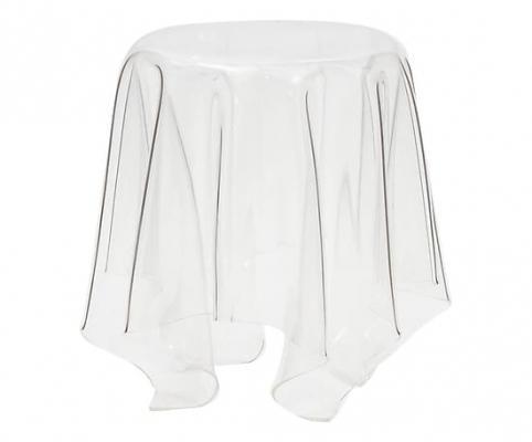 Tavolino in policarbonato Ghost trasparente su Dalani