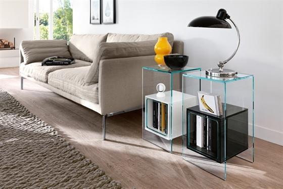Foto comodini trasparenti - Camere da letto eleganti ...