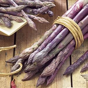 Verdure d'autunno: Asparago violetto di Albenga