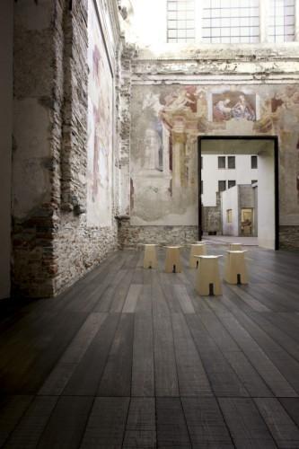 Parquet inciso Listone Giordano-Inkiostro Bianco Lab