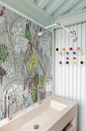 Rivestimenti idrorepellenti per il bagno - Carta da parati in bagno ...
