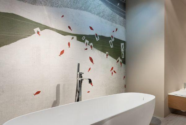 Rivestimenti idrorepellenti per il bagno - Carta rivestimento mobili ...