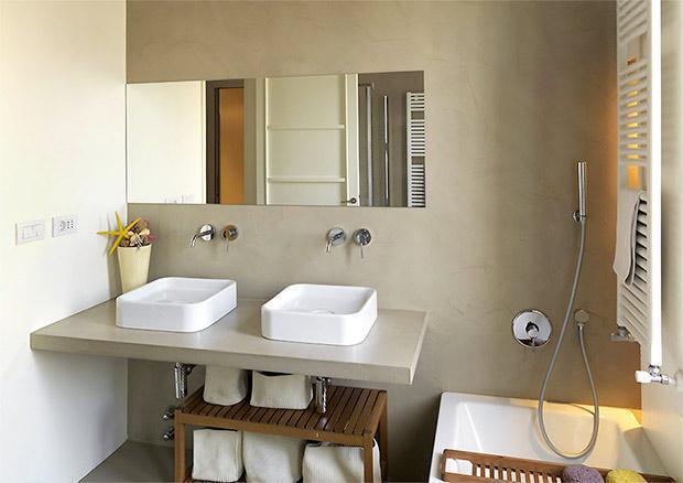 Rivestimenti idrorepellenti per il bagno