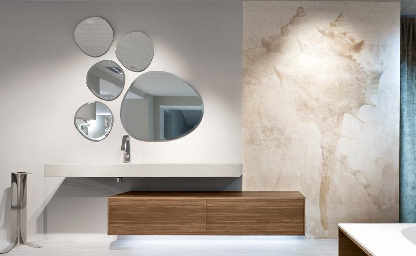 Rivestimenti da bagno by Edoné Design - Texture conchiglia