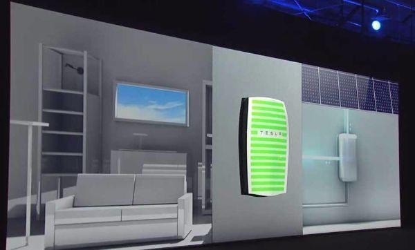 Funzionamento accumulatore fotovoltaico Powerwall di Tesla