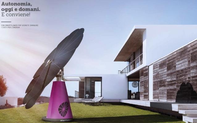 Accumulatore fotovoltaico da giardino Smartflower POP