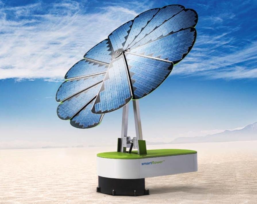 Installazione batteria fotovoltaica Smartflower SF32