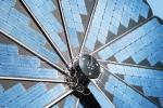 Dettaglio petali accumulatore fotovoltaico Smartflower SF32