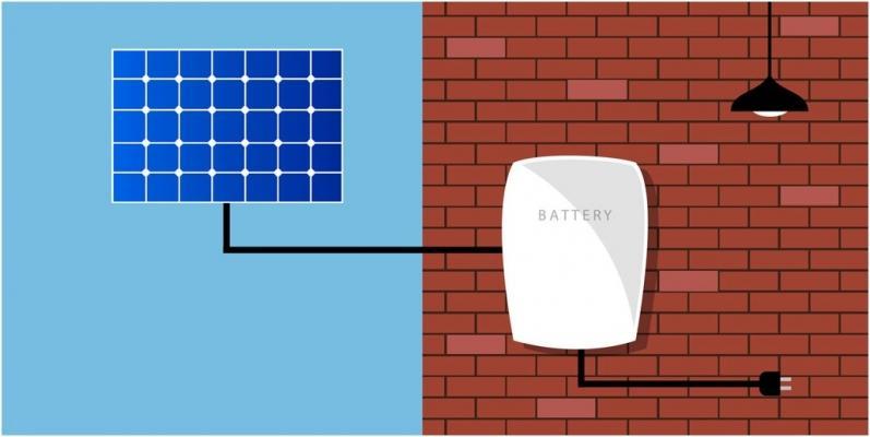 Storage fotovoltaico di Tesla