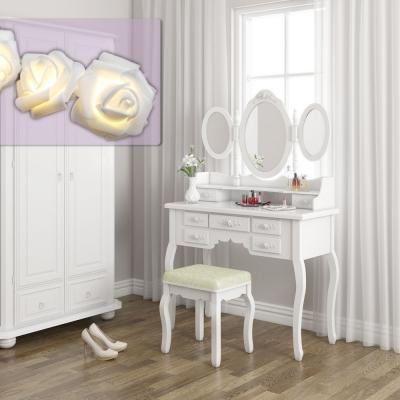 Consolle per trucco serie Queen Rose su Ebay